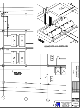 amc cad drawing Piping Equinix