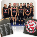 AMC proudly contributes to the NJ Crusaders AAU Girls' U16 Basketball Team